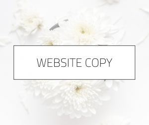 Website Copy | Melissa Mott